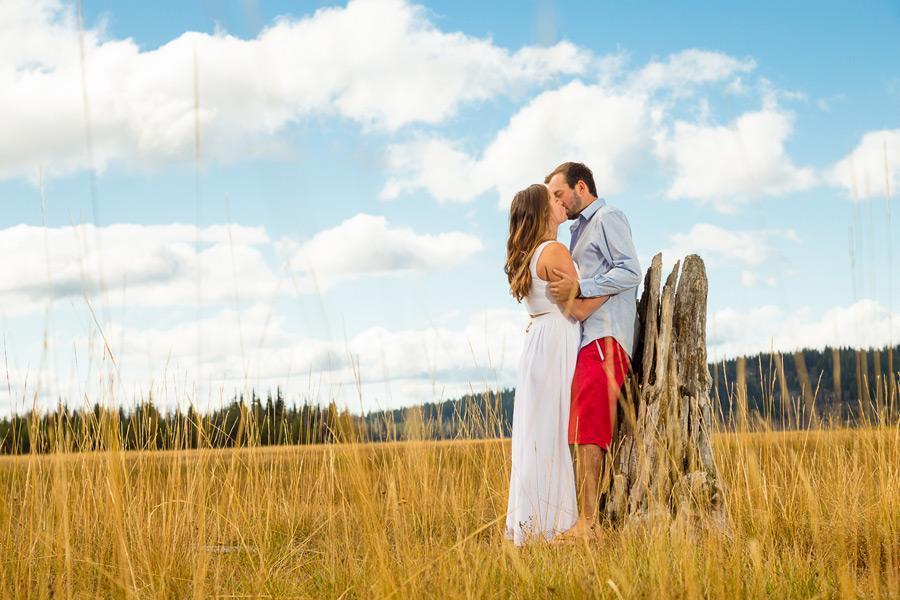 Sparks Lake Engagement   Krista & Kyle   Bend Oregon