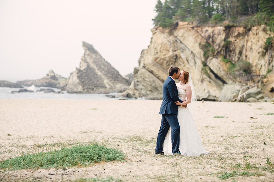 Oregon Coast Wedding   Coos Bay   Shore Acres State Park & Simpson Beach   Hannah & Alex