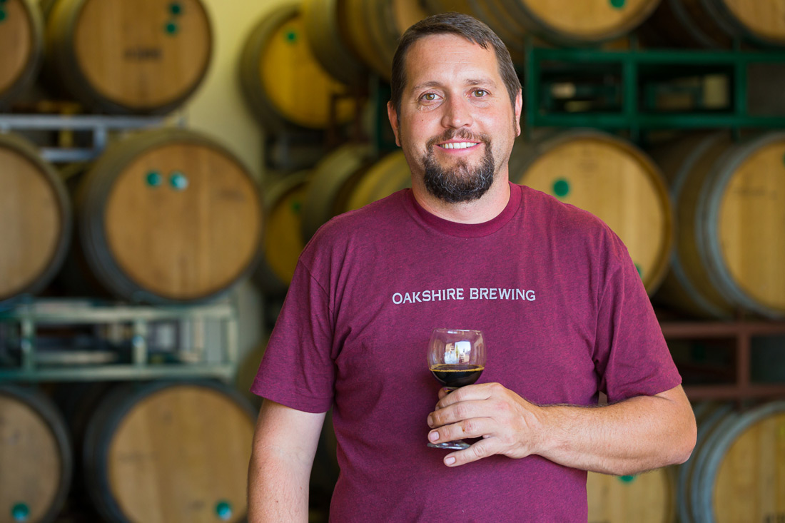 Commercial Photography   Oakshire Brewing   Barrel Aged Beers & Process Photojournalism