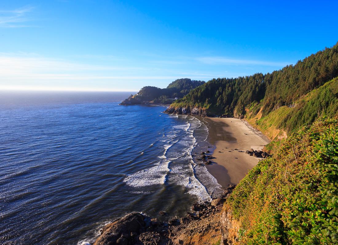 Oregon Coast Weekend | Shore Acres | Heceta Head | Seal Rock