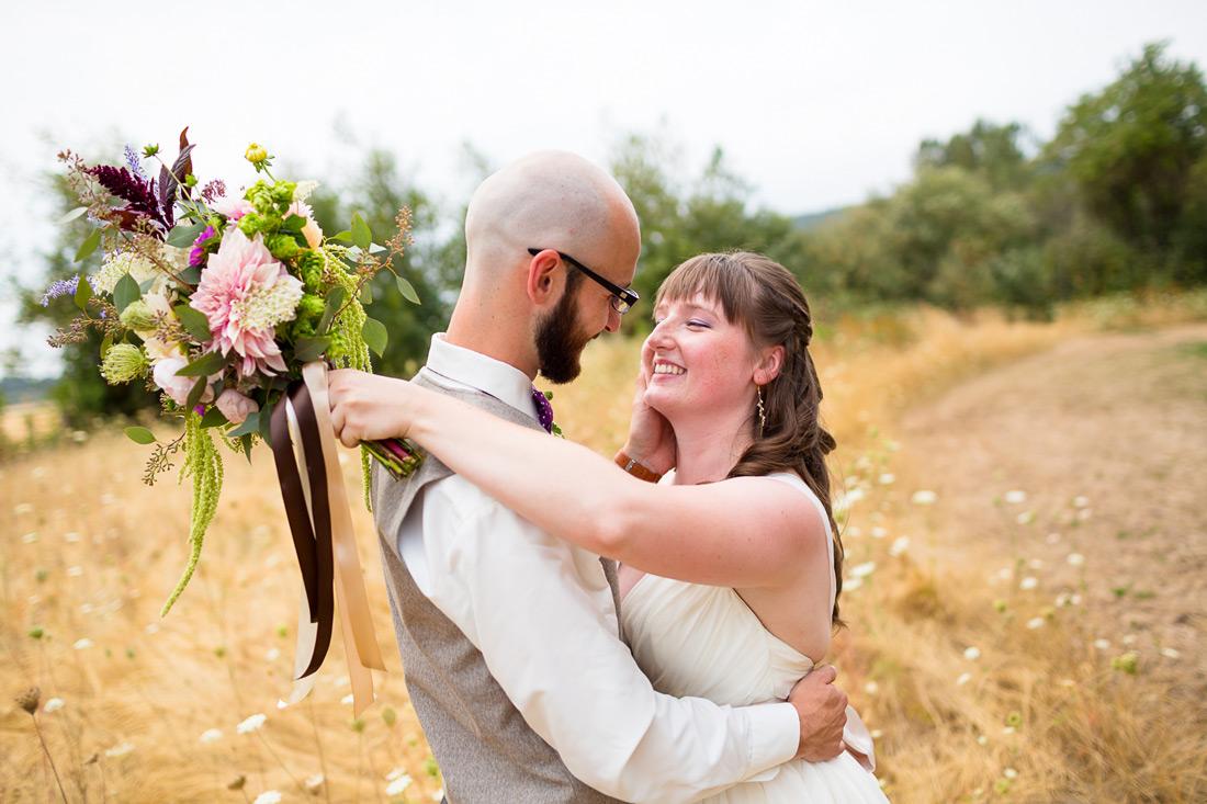 Jasper House Farm Wedding | Oregon Wedding Photographer | Bailey & Keith