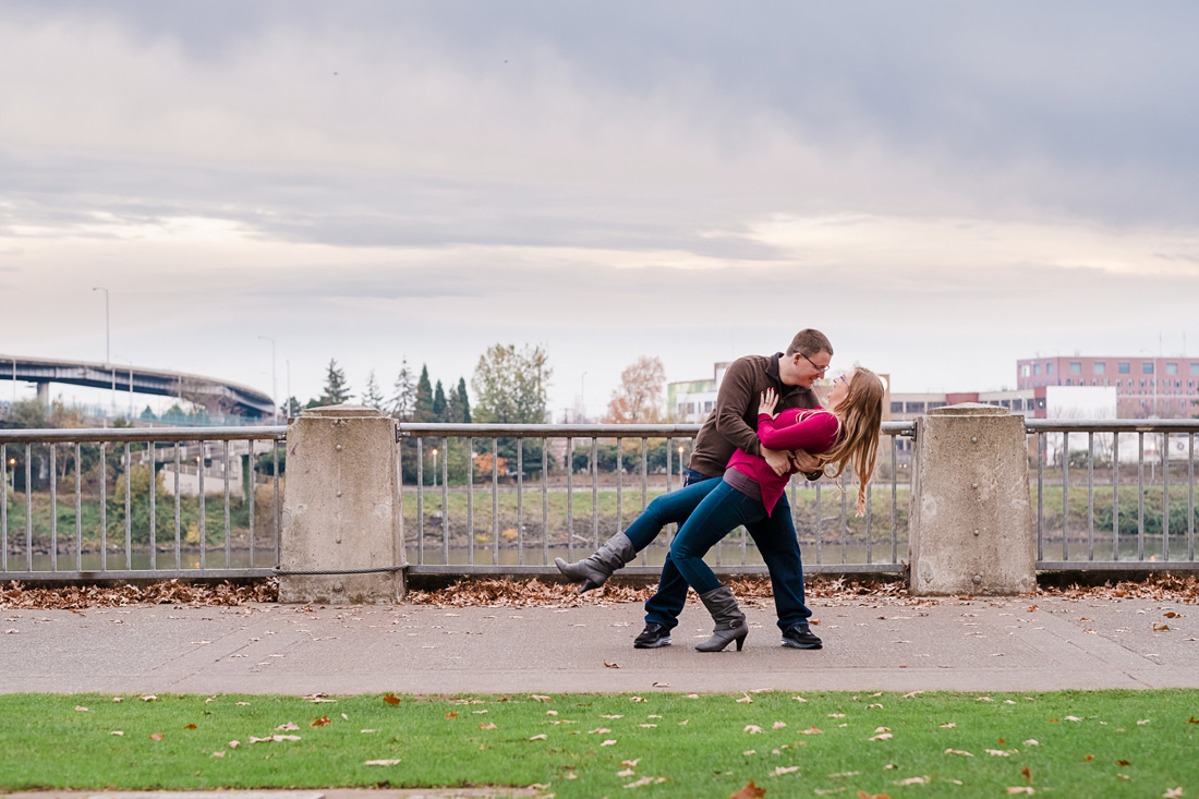 Portland Oregon Engagement Session | Tiffany & Kel