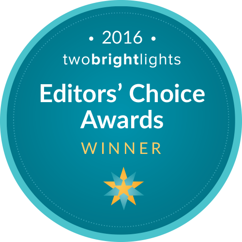badge-two-bright-lights-editors-choice-award-2016 Accolades