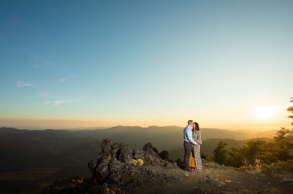 Iron Mountain Adventure Engagement Session | Chandra & Brandon