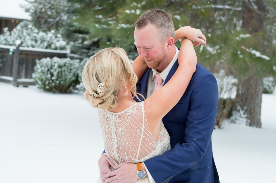 Sunriver Resort Winter Wedding | Sunriver Oregon | Margaret & Ryan