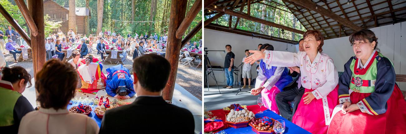 loloma-lodge-oregon-wedding-25 Loloma Lodge Oregon Wedding | Anna & Justin | Traditional Korean Tea Ceremony