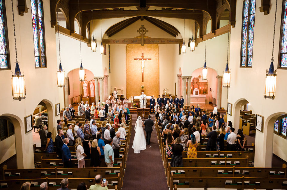 St Marys Catholic Wedding | Eugene Oregon Photographer | Ariana & Chavo