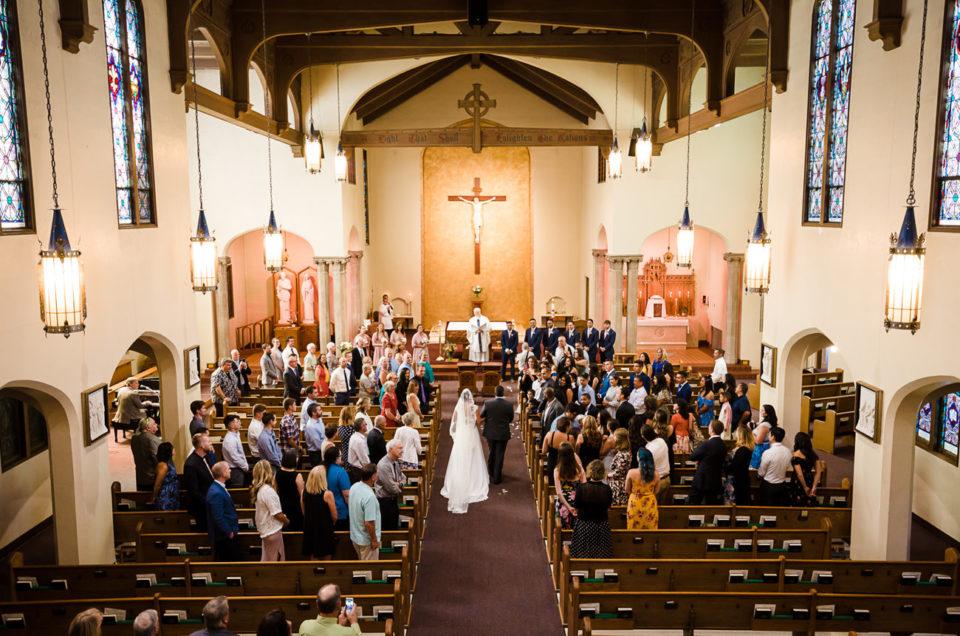 St Marys Catholic Wedding | Eugene Oregon Photographer | Ariana & Chavo